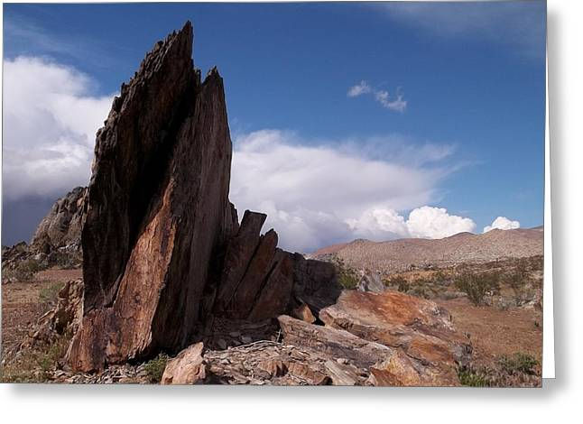 Mccarthy Art Greeting Cards - Prayer Rocks - Route 66 Greeting Card by Glenn McCarthy Art and Photography