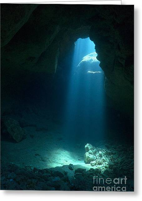 Caves Greeting Cards - Prayer Room Greeting Card by Aaron Whittemore