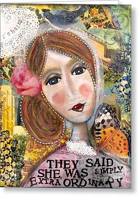 Precious Phyllis Greeting Card by Kathy Donner Parara