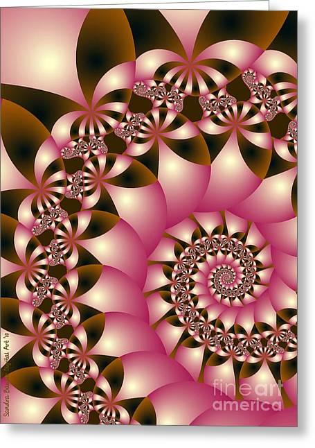 Digital Greeting Cards Greeting Cards - Precious Greeting Card by Sandra Bauser Digital Art