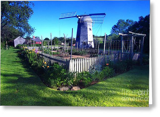 Prescott Greeting Cards - Prescott Farm Windmill Greeting Card by James Beckwith