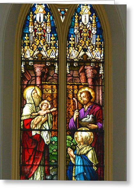 Child Jesus Greeting Cards - Presentation In the Temple Greeting Card by Richard Jenkins