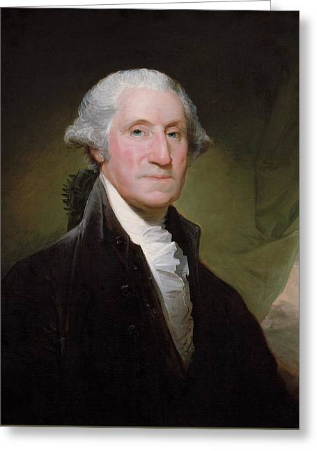 Revolution Greeting Cards - President George Washington Greeting Card by War Is Hell Store