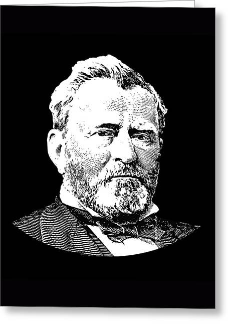 Us Civil War Greeting Cards - President Ulysses S. Grant Greeting Card by War Is Hell Store