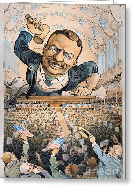 Convention Greeting Cards - Presidential Campaign, 1904 Greeting Card by Granger