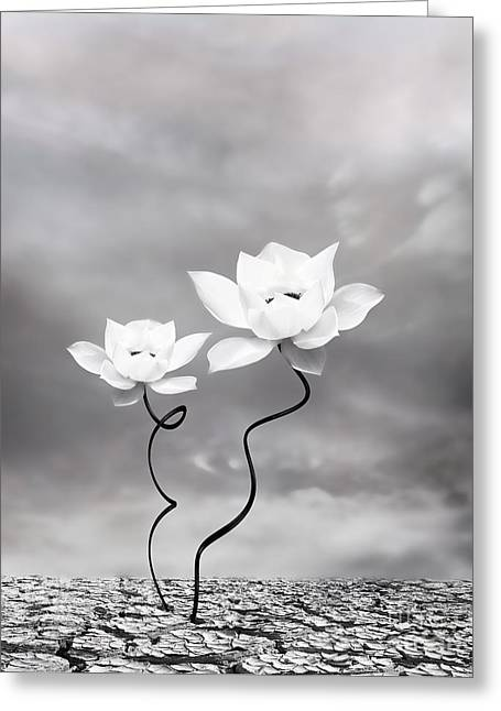 Duo Greeting Cards - Prevail Greeting Card by Photodream Art