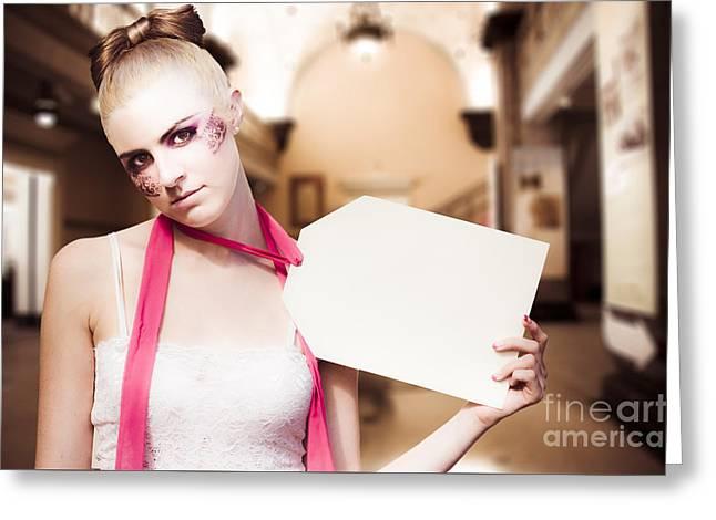 Ballet Dancers Greeting Cards - Price Tag Greeting Card by Ryan Jorgensen