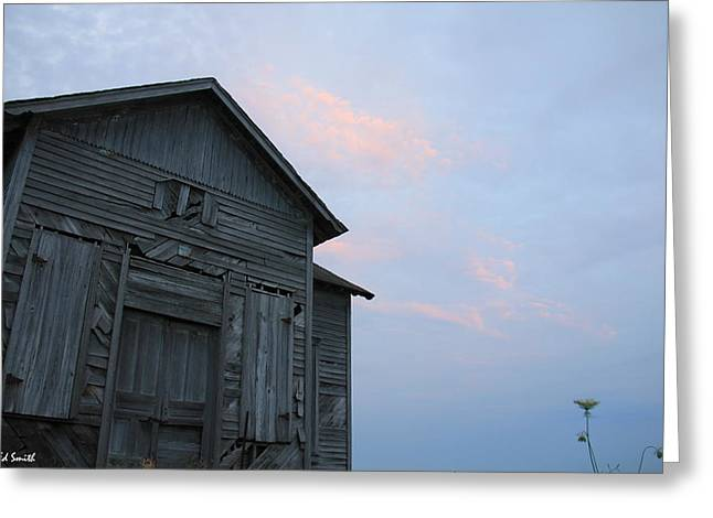School Houses Digital Greeting Cards - Pride and Joy Greeting Card by Ed Smith