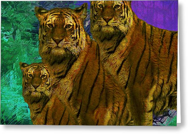 Ledge Greeting Cards - Pride Greeting Card by Jack Zulli
