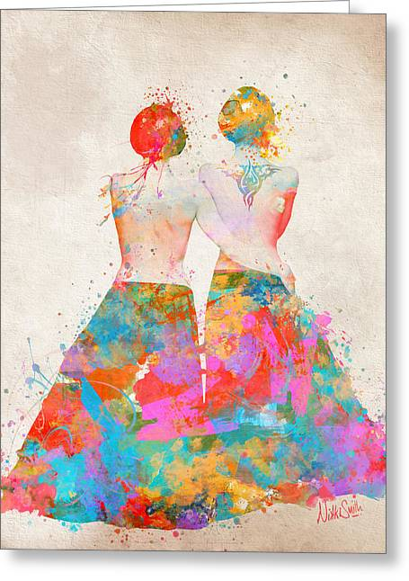 Pride Not Prejudice Greeting Card by Nikki Marie Smith