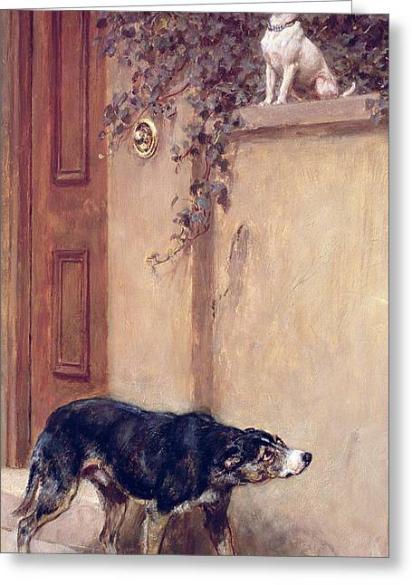 Pride Of Place Greeting Card by Briton Riviere