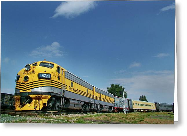 Colorado Railroad Museum Greeting Cards - Pride of the Passenger Fleet Greeting Card by Ken Smith