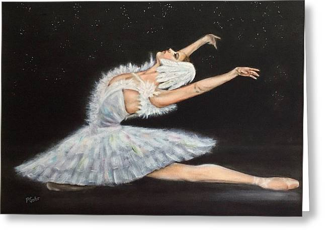Transfer Greeting Cards - Prima Ballerina Greeting Card by Dr Pat Gehr
