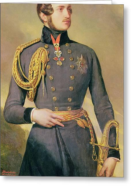 Prince Albert Greeting Card by Franz Xaver Winterhalter