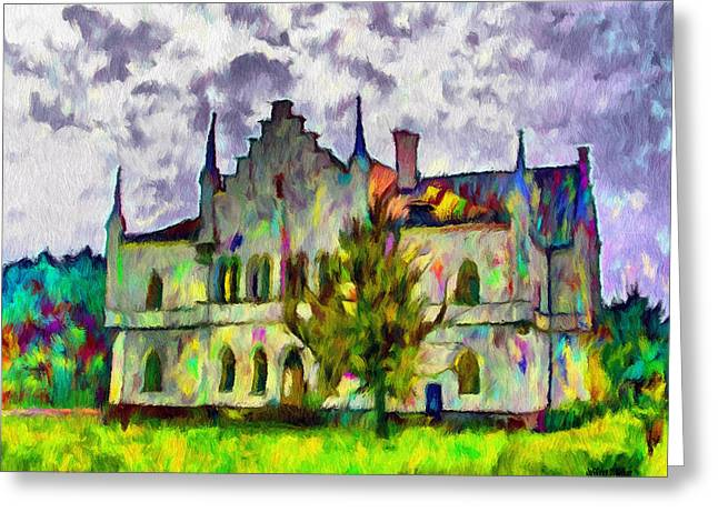 Palaces Greeting Cards - Princely Palace Greeting Card by Jeff Kolker