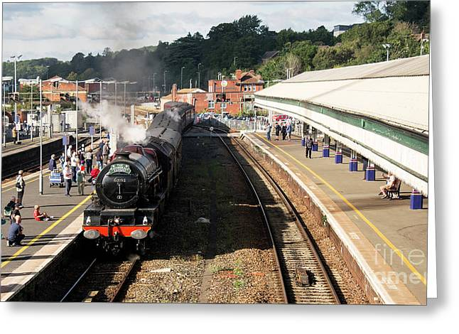 Princess Elizabeth At Exeter St Davids  Greeting Card by Rob Hawkins