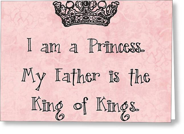 Bible Digital Greeting Cards - Princess Greeting Card by Nancy Ingersoll