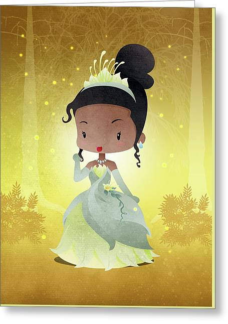 Princess Teeana Greeting Card by Paulo Capdeville