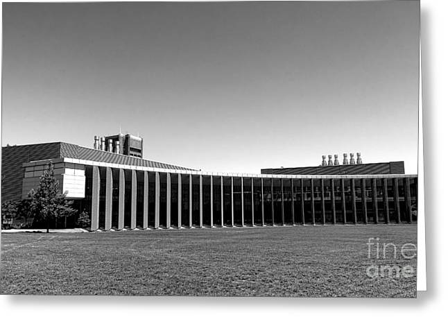 Princeton Greeting Cards - Princeton University Icahn Laboratory   Greeting Card by Olivier Le Queinec