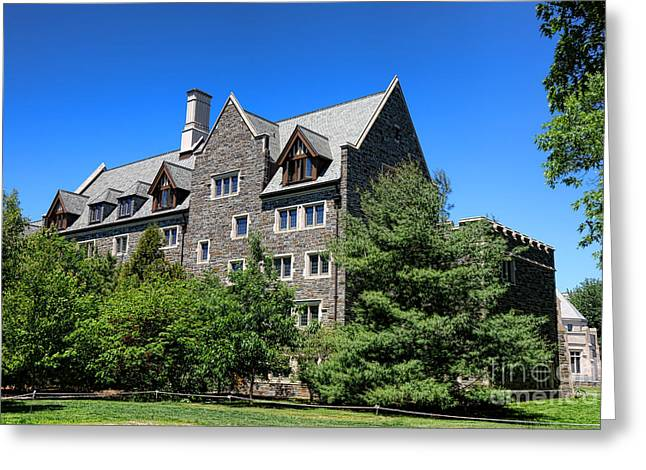 1981 Photographs Greeting Cards - Princeton University Whitman College 1981 Hall Greeting Card by Olivier Le Queinec