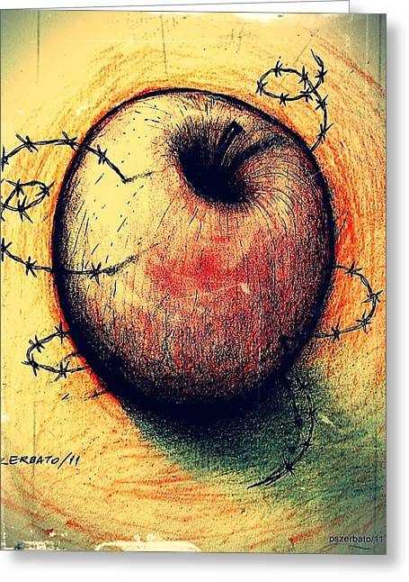 Free Will Greeting Cards - Prison of Human Desire Greeting Card by Paulo Zerbato
