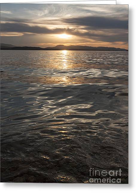 Canyon Ferry Lake Greeting Cards - Pristine Waters Greeting Card by Carolyn Brown