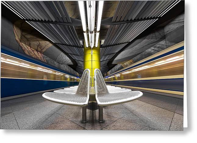 Metro Photographs Greeting Cards - Pro Vocation Greeting Card by Joe Plasmatico
