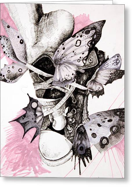 Project Set Me Free Greeting Card by Beka Burns