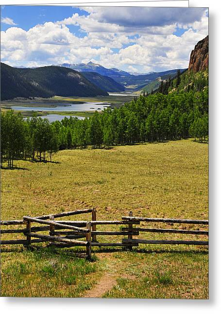 Promised Land Greeting Cards - Promised Land Greeting Card by Skip Hunt