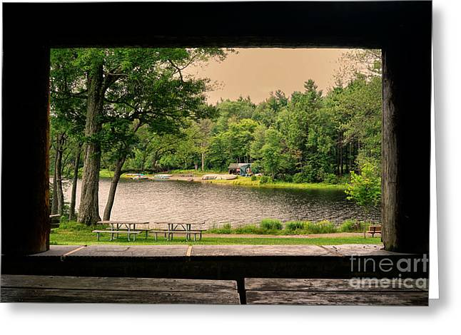 Promised Land Greeting Cards - Promised Land State Park PA 1 Greeting Card by Jack Paolini