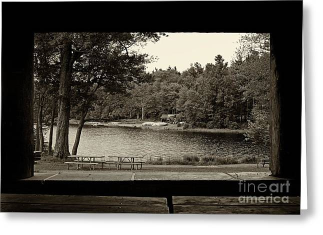 Promised Land Greeting Cards - Promised Land State Park PA 4 Greeting Card by Jack Paolini