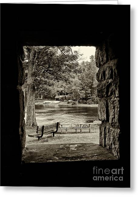 Promised Land Greeting Cards - Promised Land State Park PA 5 Greeting Card by Jack Paolini