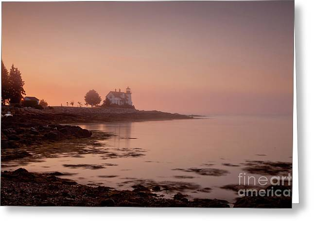 Prospect Harbor Dawn Greeting Card by Susan Cole Kelly