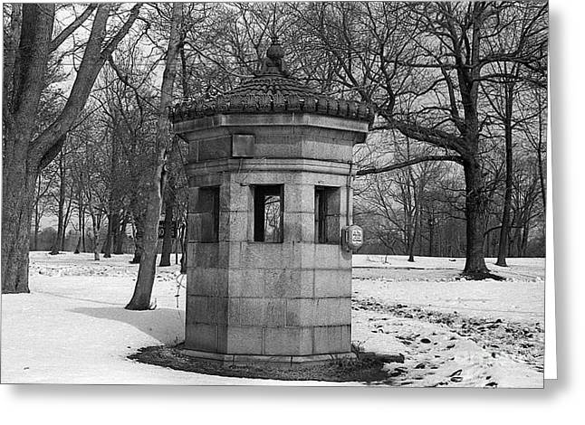 Prospects Greeting Cards - Prospect Park Greeting Card by Bob Bennett