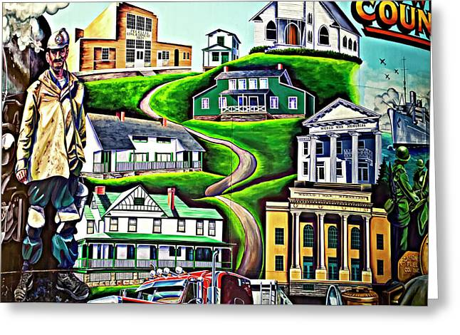 Welch Greeting Cards - Proud Heritage Greeting Card by Steve Harrington