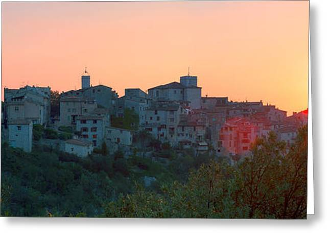 Provence Village Photographs Greeting Cards - Provence Village 1 Greeting Card by Simon Kayne