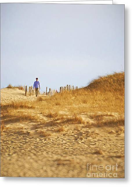Provincetown I Greeting Card by HD Connelly