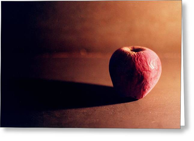 Fruit Food Greeting Cards - Pruned Apple Still Life Greeting Card by Michelle Calkins