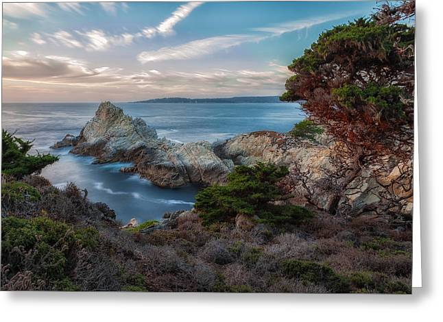California Beaches Greeting Cards - Pt. Lobos Beauty Greeting Card by Jonathan Nguyen