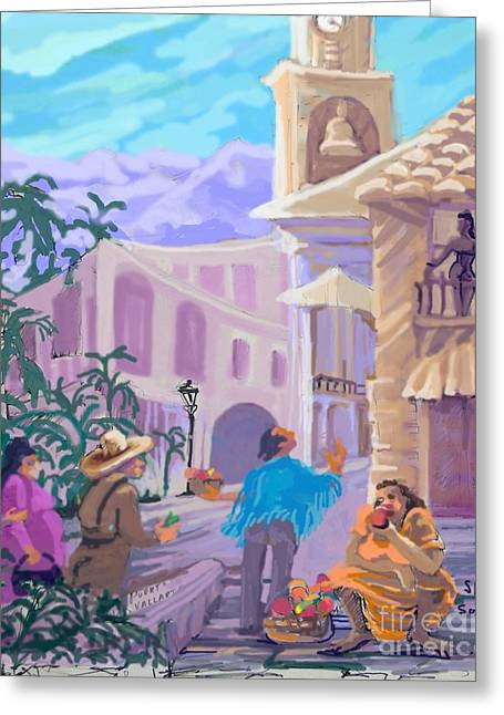 Workday Greeting Cards - Puerto Vallarta Mexico Greeting Card by Shirl Solomon
