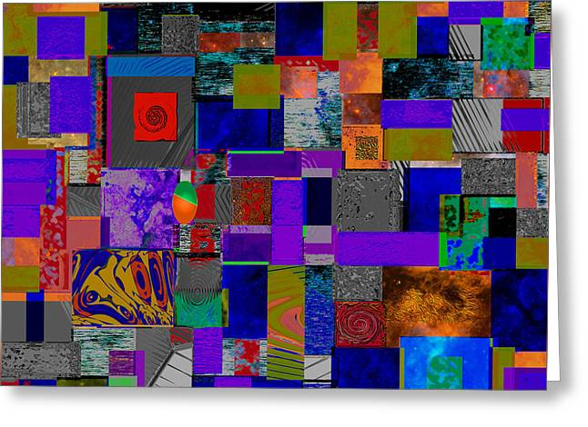 Abstract Movement Greeting Cards - Pul K Greeting Card by Phillip Mossbarger