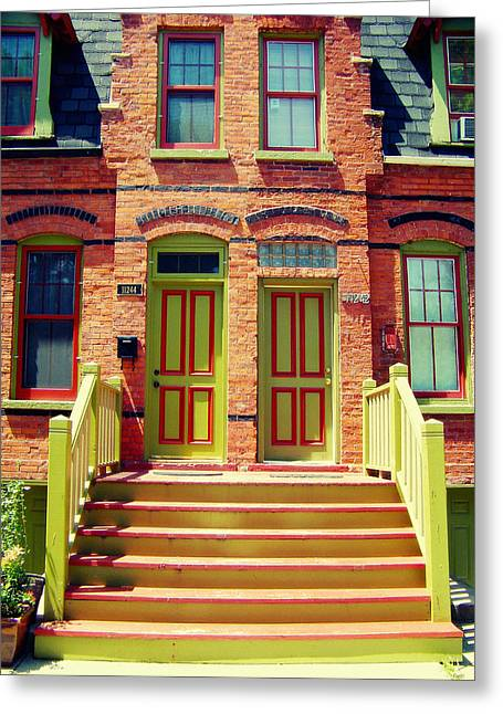 Pullman National Monument Row House Greeting Card by Kyle Hanson