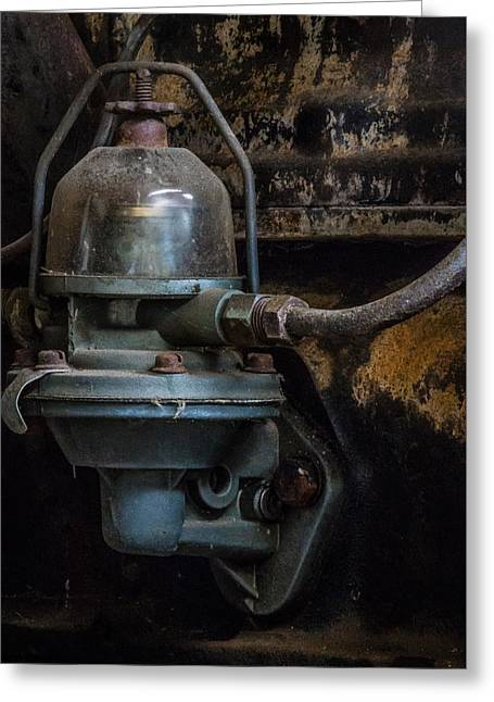 Pump It Up Greeting Card by Marnie Patchett