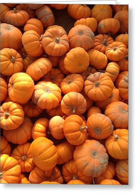 Creepy Digital Greeting Cards - Pumpkin Greeting Card by 2141 Photography