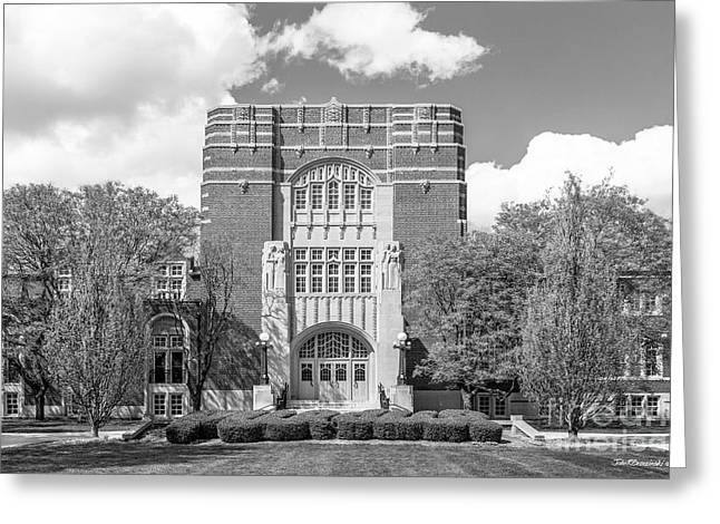 Boiler Greeting Cards - Purdue University Memorial Union Greeting Card by University Icons
