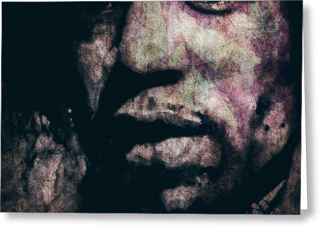 Digital Photo Greeting Cards - Purple Haze Greeting Card by Paul Lovering