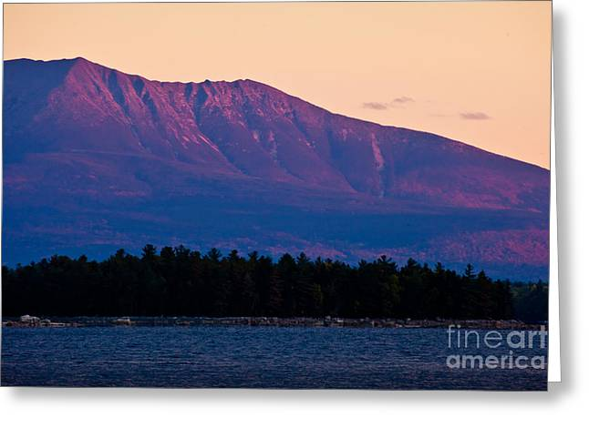 Wild And Scenic Greeting Cards - Purple Mountains Majesty Greeting Card by Susan Cole Kelly