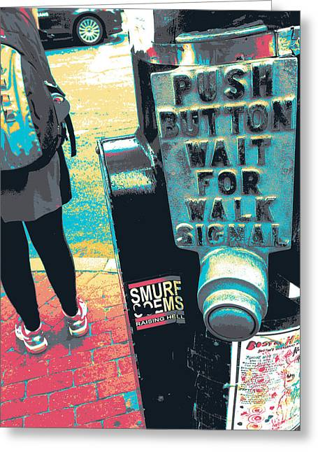 Push Button Greeting Card by Shay Culligan