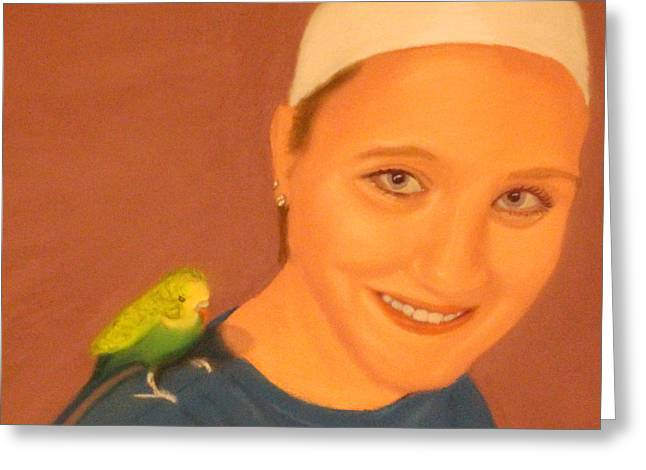 Diamond Pastels Greeting Cards - Put a Bird On It Greeting Card by Daphne Clark