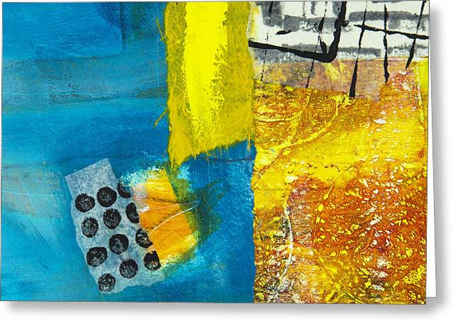 Puzzle Mixed Media Greeting Cards - Puzzle 1 Greeting Card by Elena Nosyreva